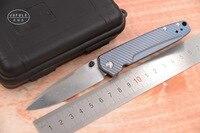 JUFULE Новый 485 реальные шведский Дамаск Лезвие Титан Ручка Складные Отдых карман выживания Охота EDC инструмент ужин кухонный нож