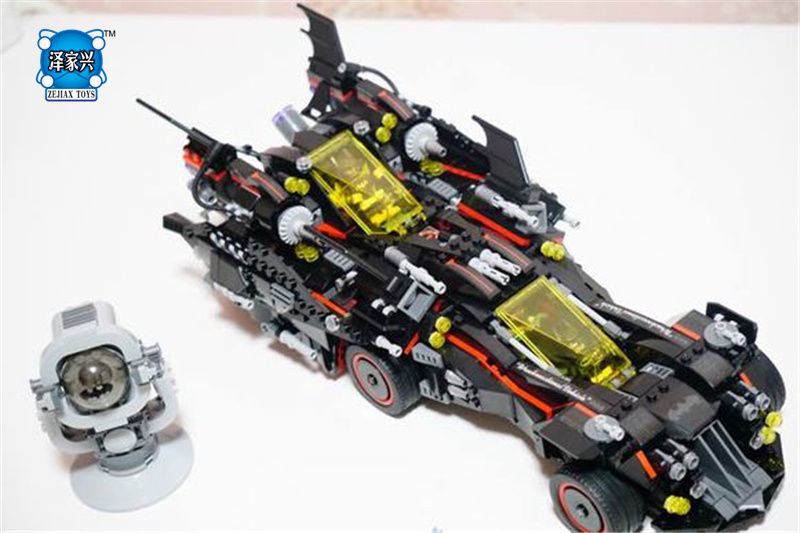 1496Pcs Genuine Batman Movie Series The Ultimate Batmobile Set Educational Building Blocks Bricks Toys Compatible Lepins Model 1496pcs genuine batman movie series the ultimate batmobile set educational building blocks bricks toys compatible lepins model