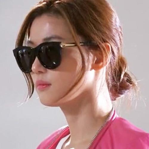 03726a238aeb Hot Sales Woman Sunglasses 2015 Spring Summer Female Girl Feminine  Fashionable UV400 Vintage Sun Glasses Actress Star Oculos BW