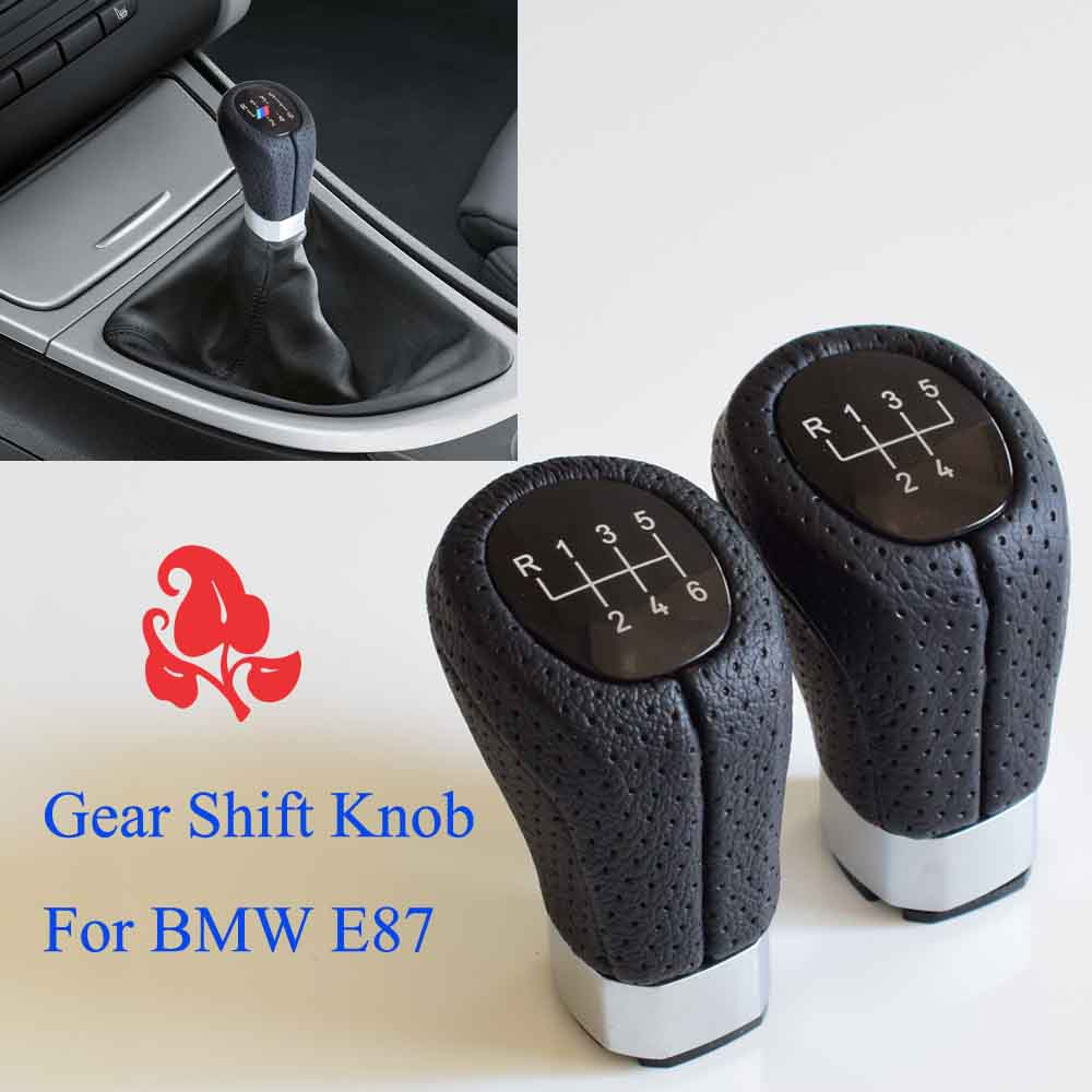 Image 5 - 5/6 Speed Gear Shift Knob Head Stick Shifter Lever Pen Handle HandBall For BMW 1 3 Series E81 E82 E87 E88 E90 E91 E92 E93-in Gear Shift Knob from Automobiles & Motorcycles
