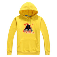2017 College Cavaliers Empire  Star Wars Darth Vader Men Sweashirt Women Virginia warm hoodies 0103-18 asia size