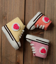 Crochet sneaker shoes girls booties shoes