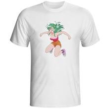 6efe8223d1e2 Sexy Jumping Bulma T Shirt Classic Anime Style Design Short Sleeve T-shirt  Casual Hip