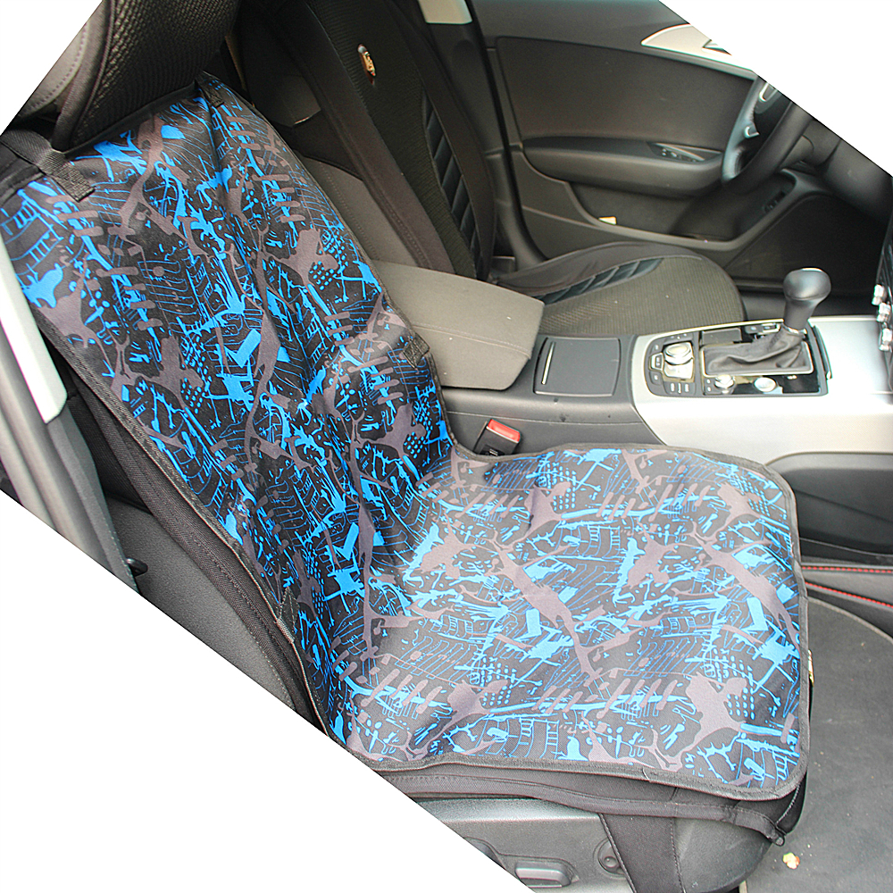waterproof oxford fabric dog car seat cover fashion print dog cat mat protector car carriers. Black Bedroom Furniture Sets. Home Design Ideas