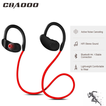 CBAOOO K100 Wireless Bluetooth Earphone Headphone Sport Bass Stereo Headset Wireless Earbuds Handsfree with Mic for