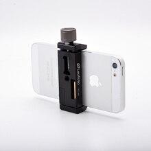 Смартфон штатив крепление алюминиевый металлический универсальный смартфон Зажим Штатив Адаптер держатель зажим для iPhone 7 plus