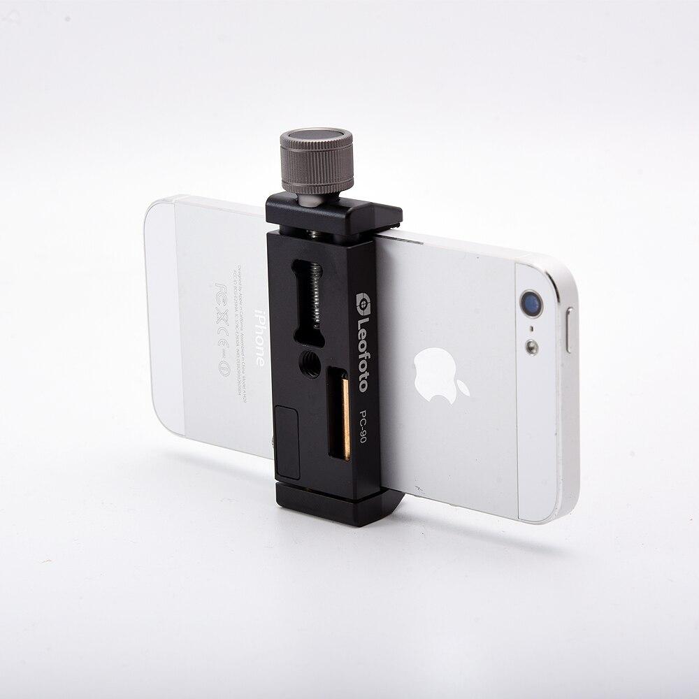 Smartphone Stativ Mount Aluminium Metall Universal Smartphone Clamp Stativ Adapter Halter Clip für iPhone 7 plus