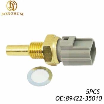 5 uds 89422-35010, 8942235010,179700-0220 Original Sensor de temperatura del refrigerante para Toyota Corolla Camry Highlander LEXUS ES300