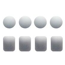 8pcs/set Metal Plates Sticker for Smartphones Tablets GPS De