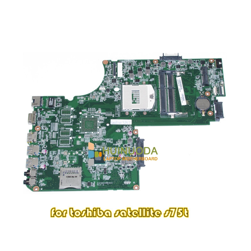 Mainboard for toshiba satellite S75 S75T laptop motherboard 17.3'' DA0BD6MB8D0 REV D A000244130 pga 947 ddr3l  motherboard for toshiba satellite t130 mainboard a000061400 31bu3mb00b0 bu3 100% tsted good
