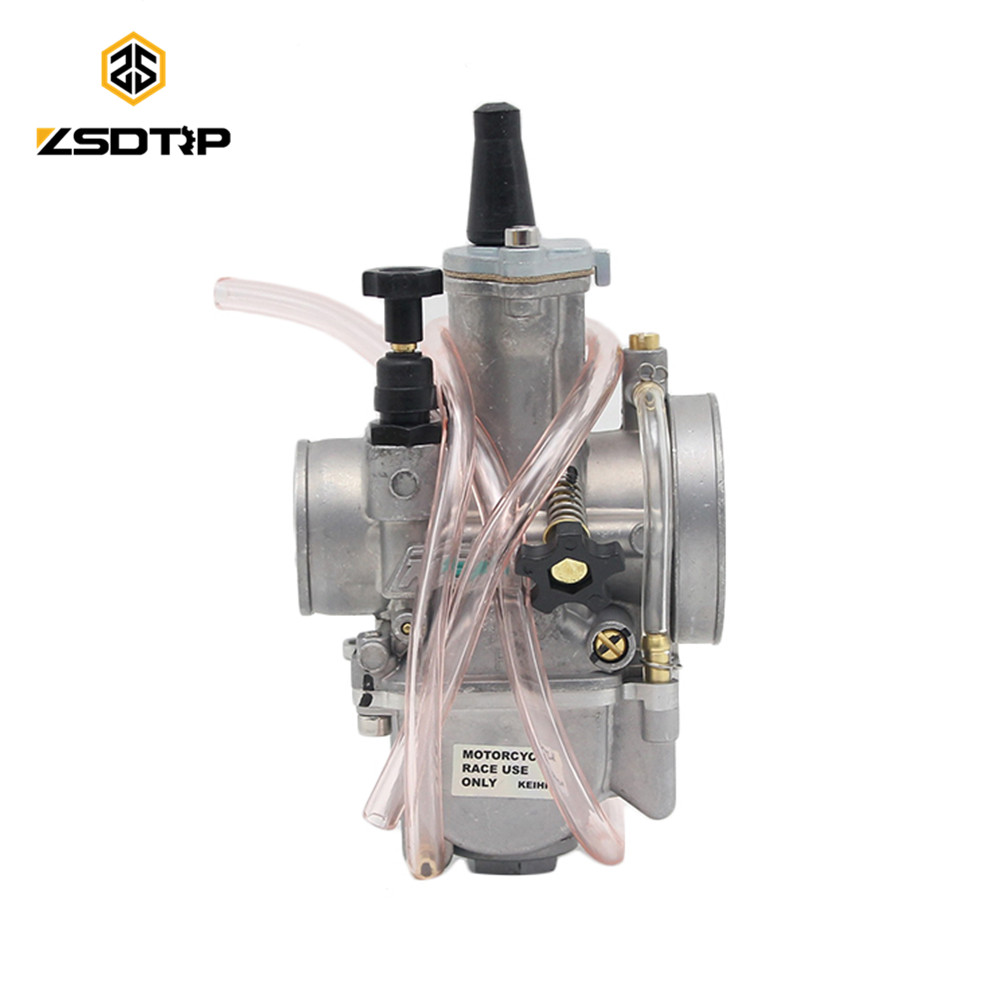 2018 new ZSDTRP Motorcycle keihin pwk carburetor Carburador 28 30 32 34 mm with power jet fit on racing motor motocross