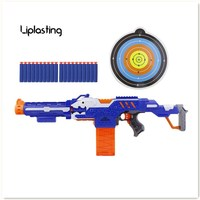 Gusts Of Soft Bullet Outdoor Electric Toy Guns Submachine Gun For Nerf Shooting Toys For Children