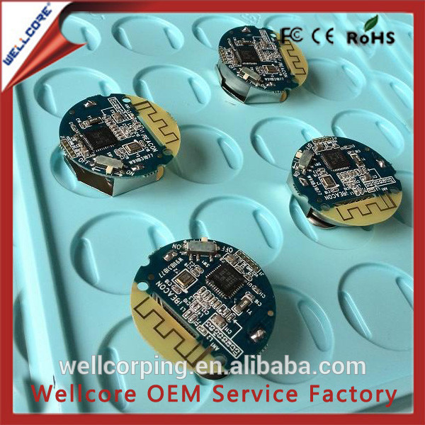 Wholesale bluetooth beacon circular CC2541 ibeacon Smallest Ibeacon Chip with battery