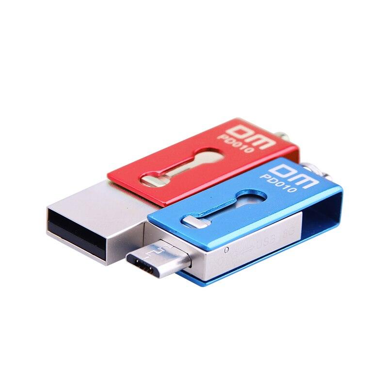 Clé USB OTG PD010 8 Go 16 Go 32 Go USB 2.0 avec double connecteur - Stockage externe - Photo 5