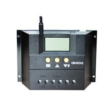 XINPUGUANG 12v 24v 60A güneş şarj kontrol cihazı için GÜNEŞ PANELI Güneş Sistemi Otomatik Regülatör Şarj Kontrolörleri lcd ekran PWM şarj