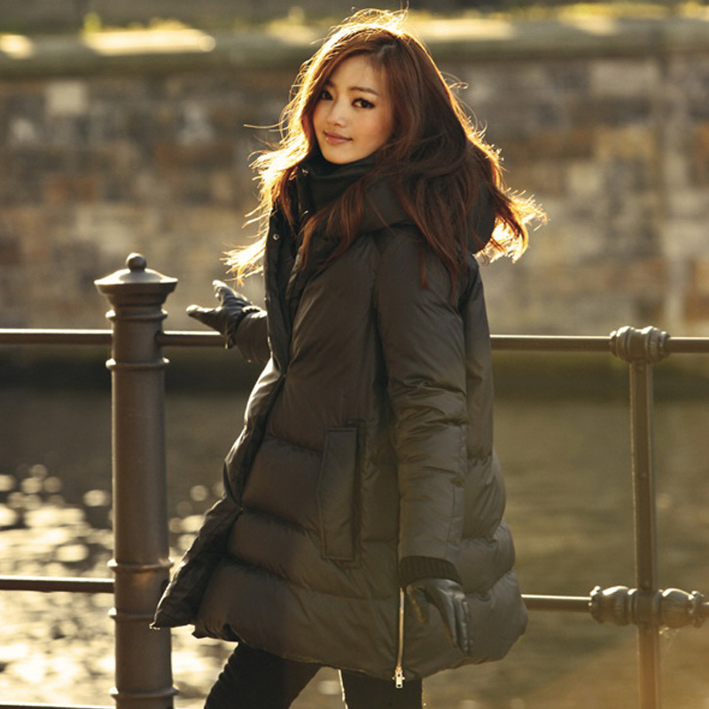 Best Long Down Coat Black