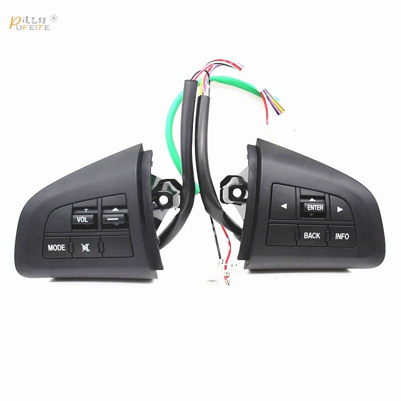 Bouton de commande de volant pour mazda 3 2010 cx-5 interrupteur de commande de cx-7