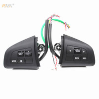 steering wheel control button for mazda 3 2010 cx 5 cx 7 control switch car styling volume mode function