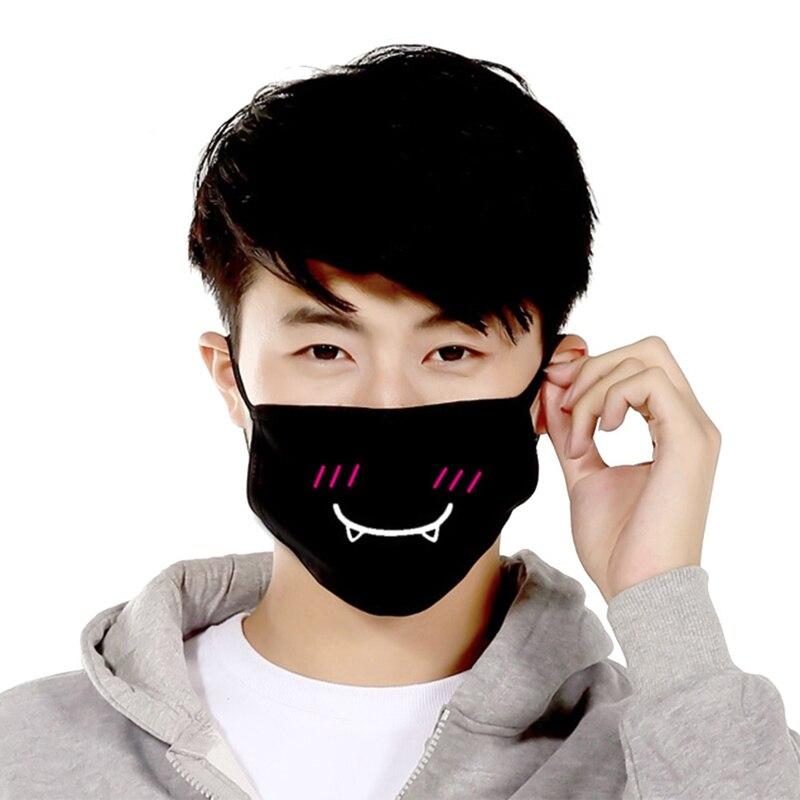 Kpop Mouth Style Face Dustproof Mask Korean Cotton 1pc Unisex