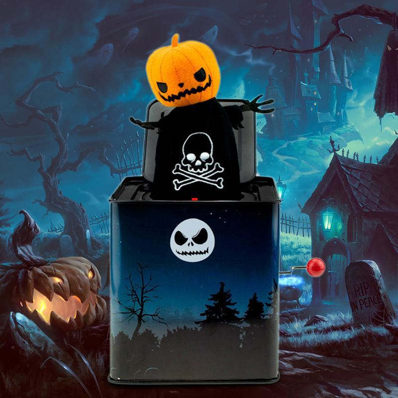 Prank Maker Trick Fun Nouveauté Drôle Blague Jouet Party Monster Citrouille Musique Boîte Truc Halloween Enfants Jouet