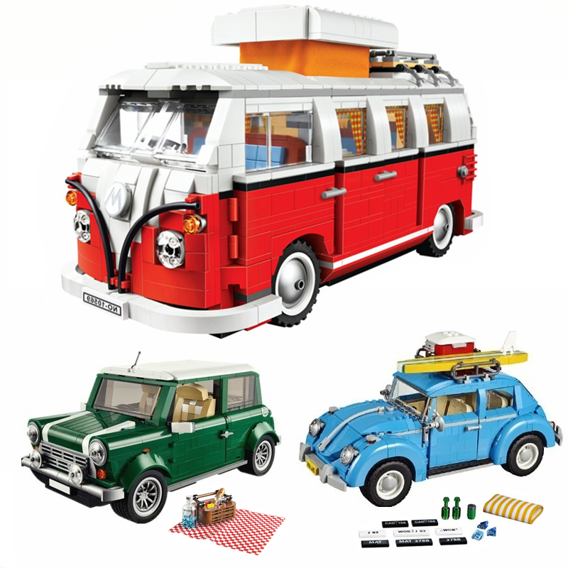 11.11 NEW City Creator Volkswagen Technic Building Blocks Sets Bricks Model Kids Toys Children Classic Legoings Friends станислав востоков кум королю