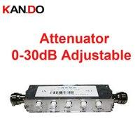 Усилитель использовать 10 Вт 0 30db регулируемые радиочастот аттенюатор DC 3G затухание разъем ВЧ коаксиальный разъем радио аттенюатор