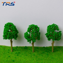 Teraysun  Architectural model making 6.6CM Trees Model for Railroad Layout Landscape Scenery Diorama Miniatures