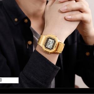 Image 4 - スポーツ腕時計男性電子 Led デジタルメンズ腕時計トップブランドの高級男性時計防水時計レロジオ Masculino SKMEI