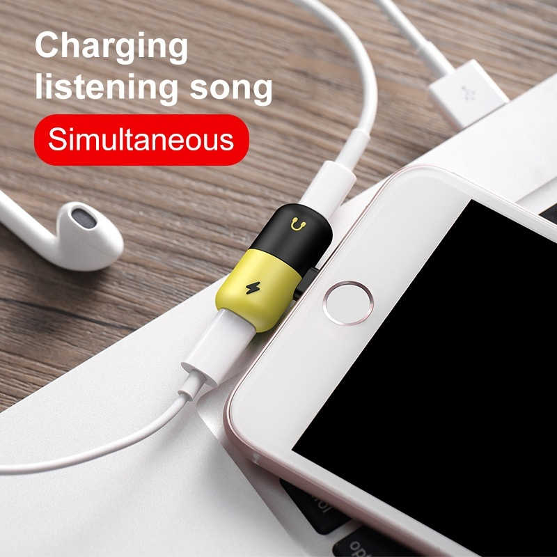 2 In 1 Audio Charger Phone Case for IPhone X XR XS Max 7 8 Plus 7plus 8plus Coque Cover Accessories