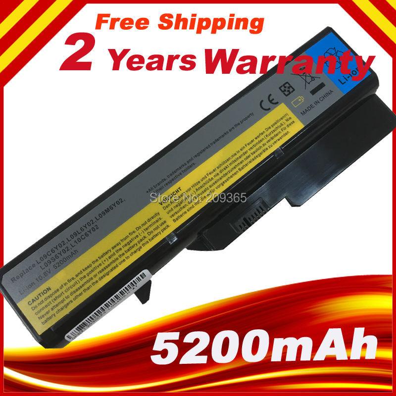 4400 мАч ноутбука Батарея для Lenovo IdeaPad B470 g460 G560 G570 V370 V470 Z460 Z560 z465 Z565 Z570 lo9s6y02 l10p6y22