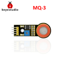 Free shipping !Keyestudio MQ-3 Alcohol Ethanol Sensor Detection Module for Arduino