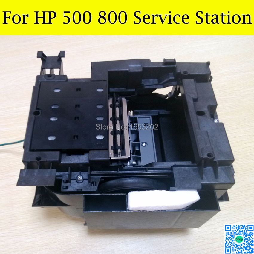 1 Set 90% New Original Clean Station C7769-60374 C7769-60149 For HP Designjet 500 510 800 Service Station Plotter Printer 1 pc bl original clean unit service station for hp designjet 500 500puls 500mon 510 800 c7769 60374 60149 printer