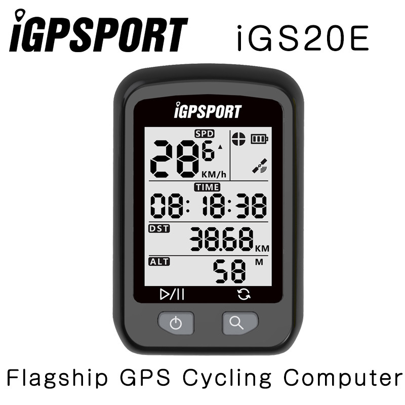 IGPSPORT iGS20E GPS-Enabled Della bicicletta della Bici del computer tachimetro Garmin 200 520 Bryton 310 330 iGS50E