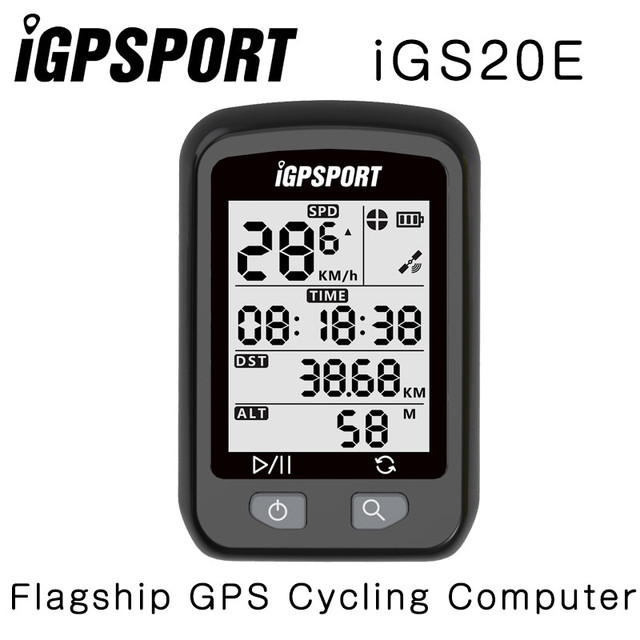 IGPSPORT iGS20E GPS bicicleta ordenador velocímetro Garmin 200 520 Bryton 310 330 iGS50E