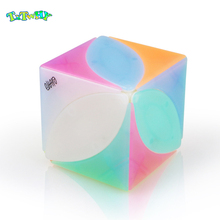 New Arrival QiYi Mofangge Ivy magic Cube 3x3x3 The First Twist Cubes of Leaf Line Puzzle professional magics Jelly color toys