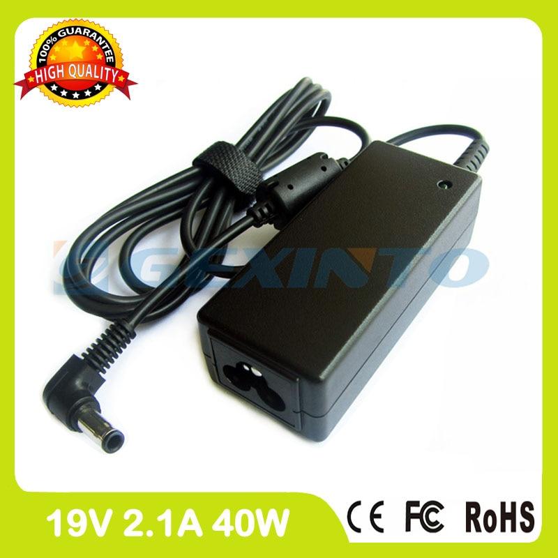 19V 2.1A 40W Ac Adapter AD-4019C AD-4019R Laptop Charger For Samsung 350U2A 350U2B N100 N102 N102S N110 N120 Black N128