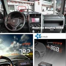 Car HUD Head Up Display For Suzuki Jimny JB43 - Refkecting Windshield Screen Saft Driving Screen Projector car hud head up display for bmw 7 e65 e66 e67 e68 f01 f02 refkecting windshield screen saft driving screen projector