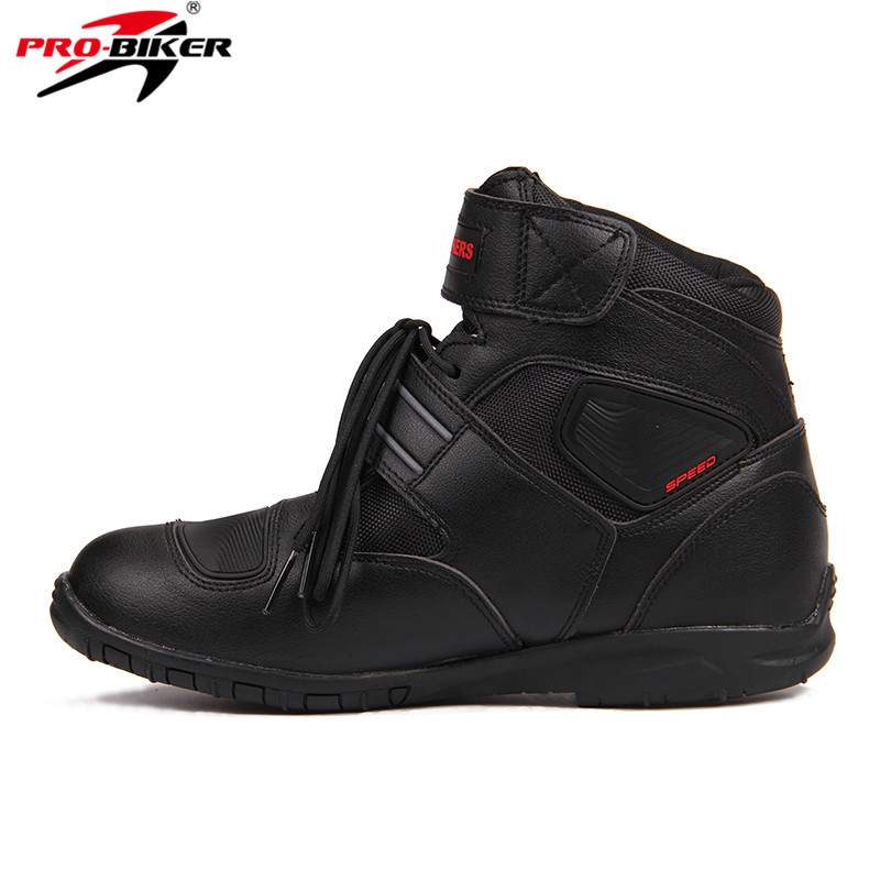 Sports Motorcycle Boots Riding Tribe SPEED BIKERS Comfortably  Moto Racing Boots Motocross Motorbike Shoes A005 Black/White/Red maximus vii gene