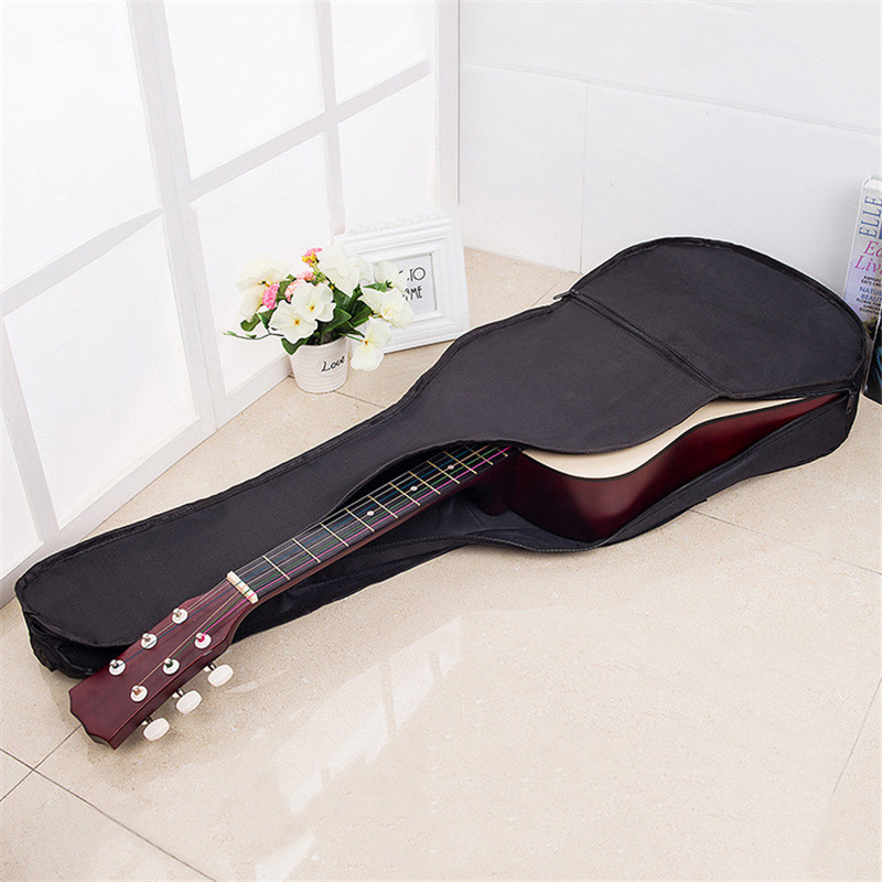 guitar 38 inches waterproof backpack folk acoustic guitars bag oxford cloth bag guitar parts and. Black Bedroom Furniture Sets. Home Design Ideas