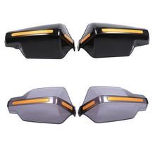 1 пара мотоциклетные защита рук ручка протектор щит Мотоцикл Мотокросс скутер ветрозащитный Руль управления для мотоциклов рукавицы