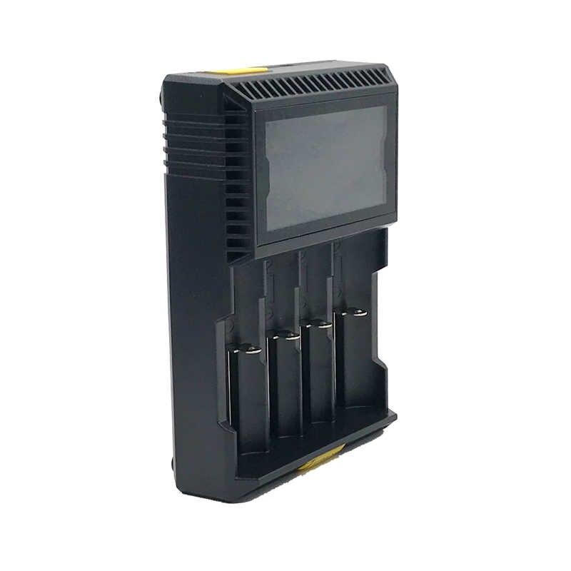 Turmera 18650 ładowarka samochodowa ładowarka lcd T4S dla 26650 21700 18500 18350 14500 NI-MH NI-CD bateria AA ładowarka JUN21