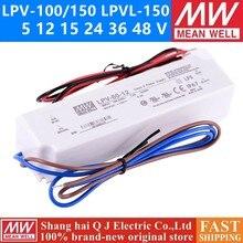 MEAN WELL LPV-100 150 W 5 12 15 24 36 48 V meanwell LPVL-100-150 5 12 15 24 36 48 única Saída de Comutação da fonte de Alimentação