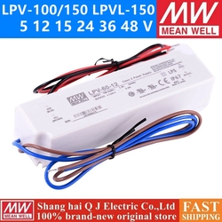 MEAN WELL LPV-100 150 W 5 12 15 24 36 48 V meanwell LPVL -100 -150 5 12 15 24 36 48 Single Output Switching Power Supply