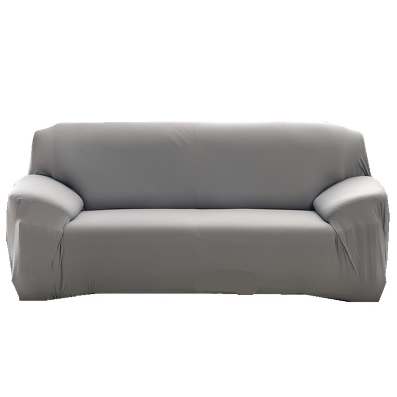 Grey Color Elastic Couch Sofa Cover Loveseat Cover Sofa Covers for Living Room