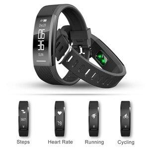 Image 3 - สายรัดข้อมือสมาร์ทกันน้ำฟิตเนสสร้อยข้อมือHeart Rate Monitorวงดนตรีสมาร์ทPedometerกิจกรรมTracker Sleep Monitor Smart Watch