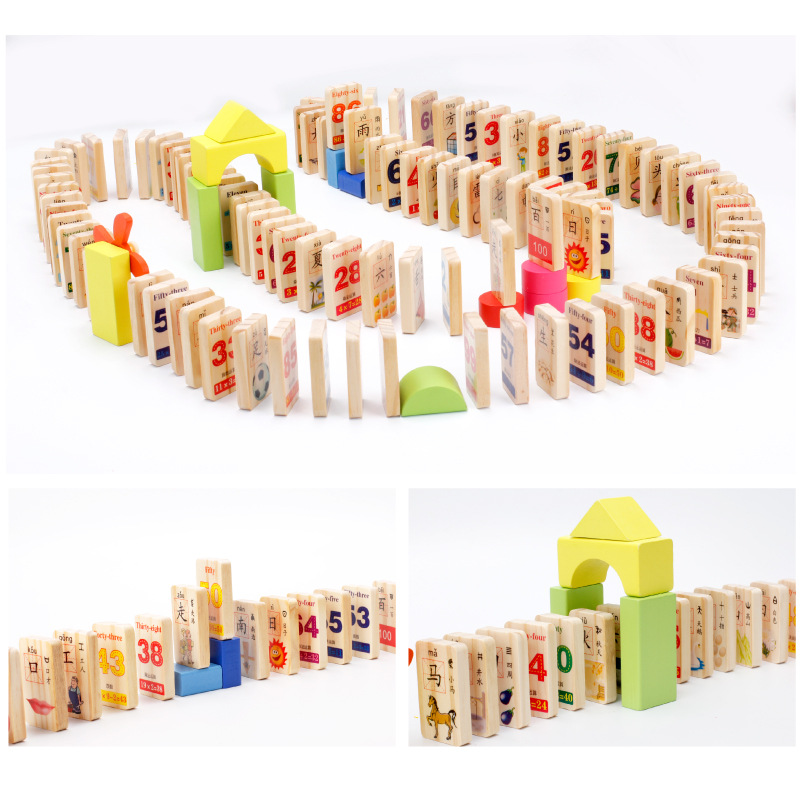 Compare Prices on Block Chinese- Online Shopping/Buy Low Price ...MWZ 100pcs Wooden Domino Blocks Chinese Characters Digital Double-sided  printing Building Blocks Education Toys