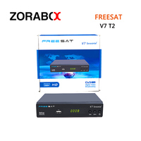 5pcs DVB T2 Satellite Receiver Freesat V7 Terrestrial HD DVB T2 DVB T T2 TV Digital