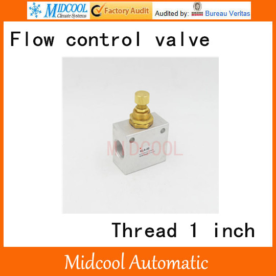KLA-25 One-way throttle valve pneumatic flow control valve port 1 BSP hydraulic pump double throttle check valve flow valve z2fs22 30b stack valve