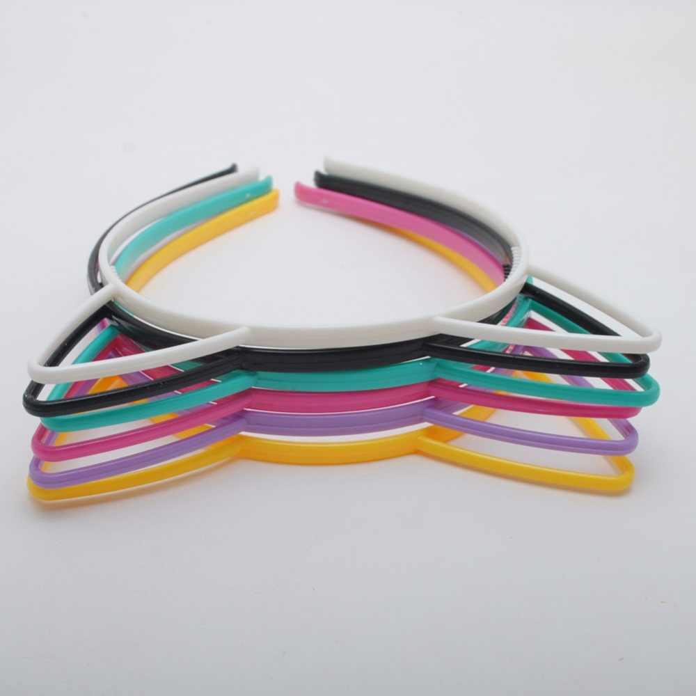 4 шт./лот прелестные модные туфли Кот уха Hairbands Для женщин девушек Зубы волос Группа Головные уборы оголовье аксессуары для волос