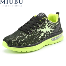 MIUBU Spring Autumn New Casual Shoes Breathable Mesh Lace-Up sneakers Fashion Outdoor Comfortable Men Sneakers